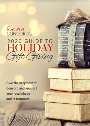 Discover Concord magazine has released the 2020 Holiday Guide to Gift Giving with a collection of more than 100 holiday gift ideas, entirely from Concord shops and restaurants.