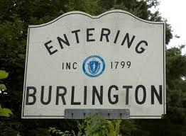 Town of Burlington sign