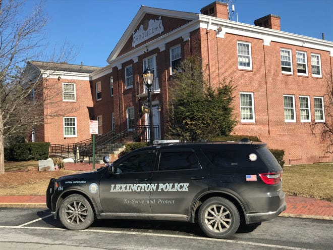 The Lexington Police station on Massachusetts Avenue.