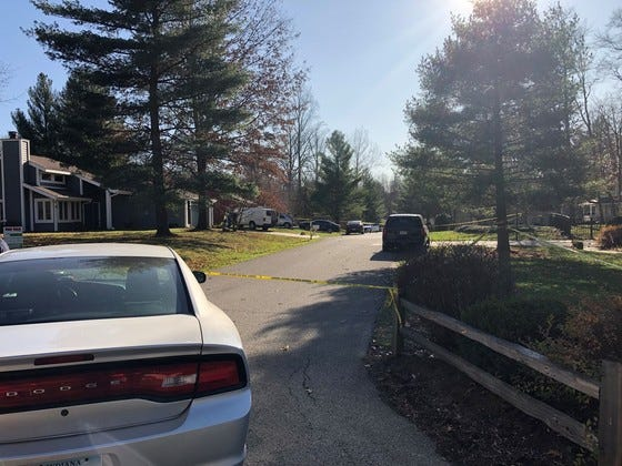 Indiana State Police blocked access on Bridlewood Trace in  Batesville, Indiana, following an officer-involved shooting, according to Sgt. Stephen Wheeles with the Indiana State Police.