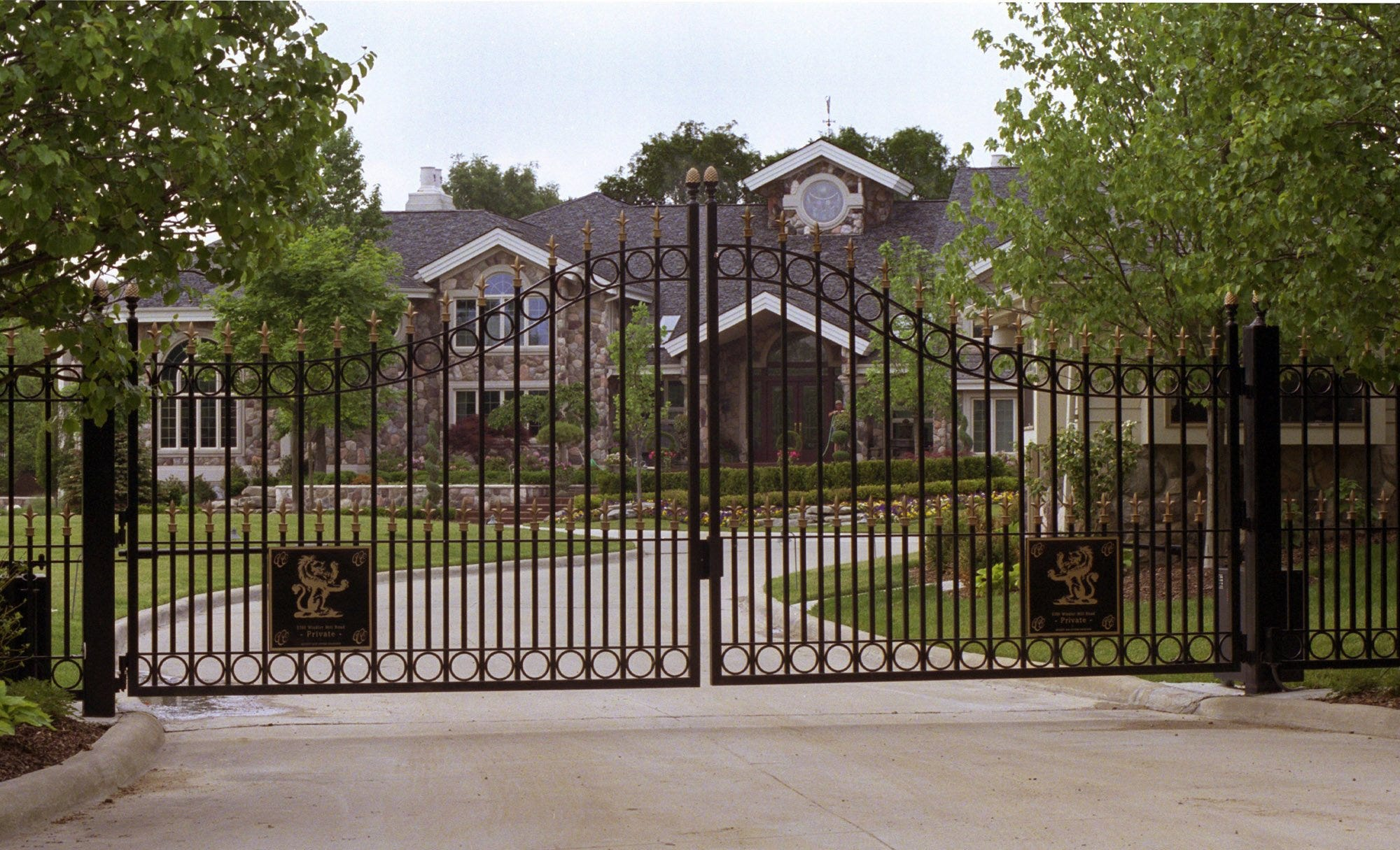 Michigan mansion once owned by Eminem is back on the market