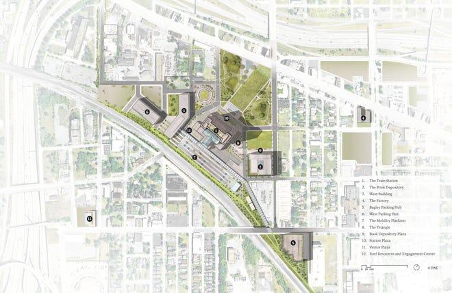 Rencana lokasi Michigan Central