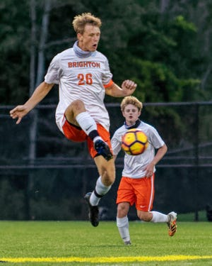 Brighton's Josh Adam has received all-state soccer mention the last three years.