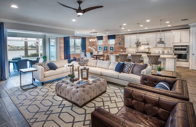Time is running out for homebuyers to own new-construction in Tidewater and to select their favorite of eight flexible Del Webb floor plans offering two to five bedrooms, up to four-and-a-half baths, and two- or three-car garages.