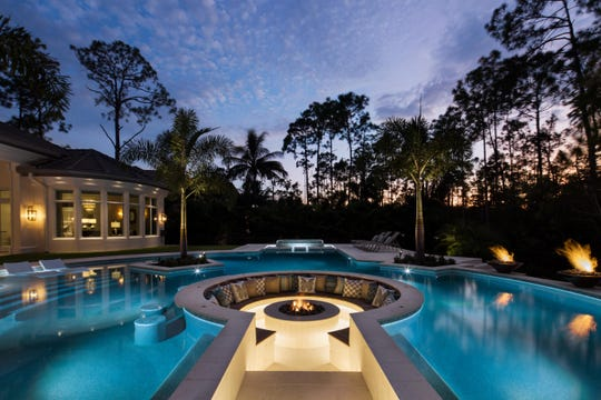 Harwick Homes Mediterra project earned Sand Dollar Awards for Product Design of the Year and Best Outdoor Living Area for a Single Family Home $5,000,001+ ($9,000,001-$11,000,000).