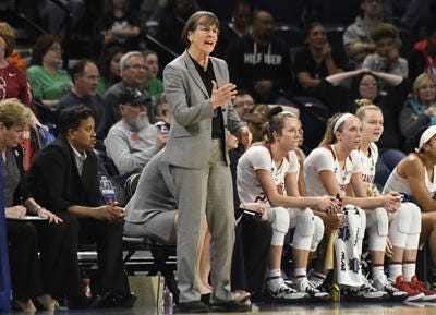 Stanford, led by Hall of Fame coach Tara VanDerveer, is picked to finish first in Pac-12 women's basketball in 2020-21 in media and coaches preseason polls.