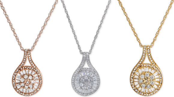 Best gifts from Macy's: Diamond necklace