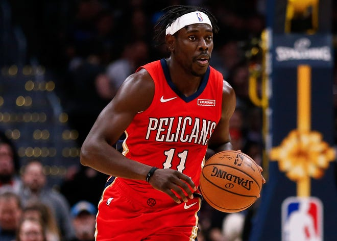 Jrue Holiday averaged 19.1 points, 6.7 assists and 1.6 steals for the Pelicans last season.