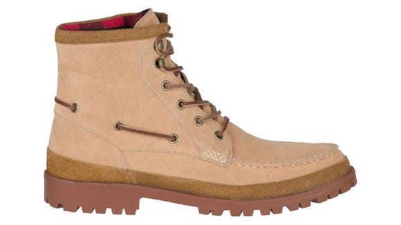 These waterproof boots are both stylish and functional for the winter.