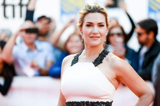 """Kate Winslet at the 2017 Toronto International Film Festival. She's back in the awards race this year with period romance """"Ammonite."""""""