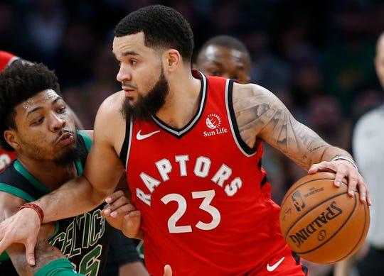 Fred VanVleet became a proven playoff player in his four years with the Raptors.