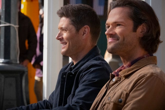 """""""Supernatural"""" star Jared Padalecki (right, with Jensen Ackles) calls the series finale a """"really powerful"""" closer to 15 seasons."""