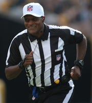 Jerome Boger will lead the first all-Black NFL officiating crew on Monday.