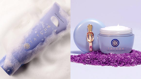 Best skincare gifts for beauty lovers: Tatcha Dewy Skin Duo