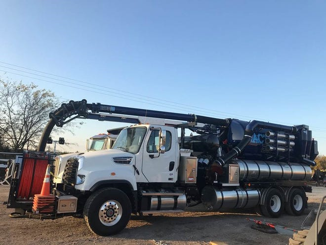The Vactor 2100i combination sewer cleaner may soon be a common sight along Anna streets.