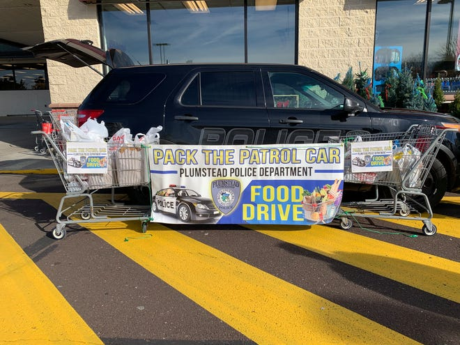 "Plumstead police will hold another ""Pack the Patrol Car"" event at two Giant stores this weekend."