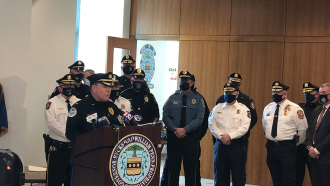 Upper Southampton police Chief Ron MacPherson talks about the county's use-of-force guidelines, which all 39 police departments in Bucks County will be following.
