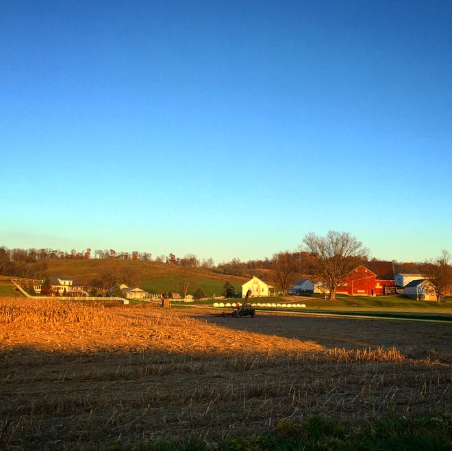 Farmers across Ohio are harvesting their crops as Thanksgiving arrives.