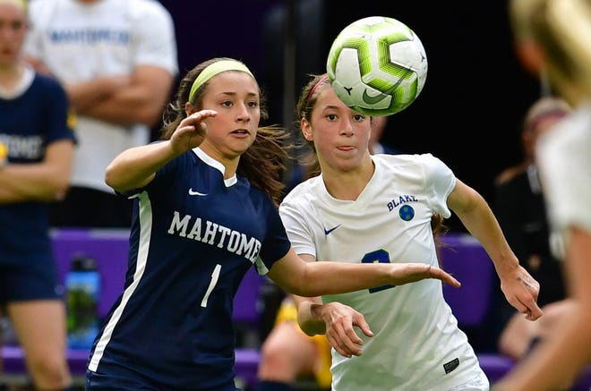 Lanie Padelford helped Mahtomedi H.S. win a state championship in 2019.