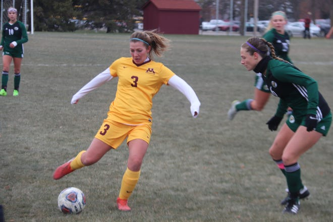 Maggie Peterson was one of 20 Minnesota Crookston student athletes to be named to the NSIC All-Academic Team.