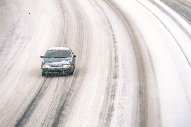 In preparation for snowy weather, it's best to leave early and drive slow to ensure you get to where you need to go this winter, according to Trooper Brian Neff of the Ohio State Highway Patrol Cambridge Post.