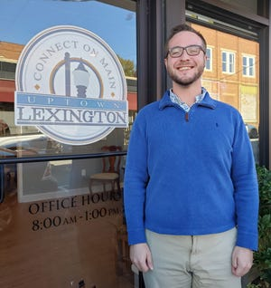 Lexington native Jacob Gordon began his new job as executive director of Uptown Lexington Inc. on Nov. 9.