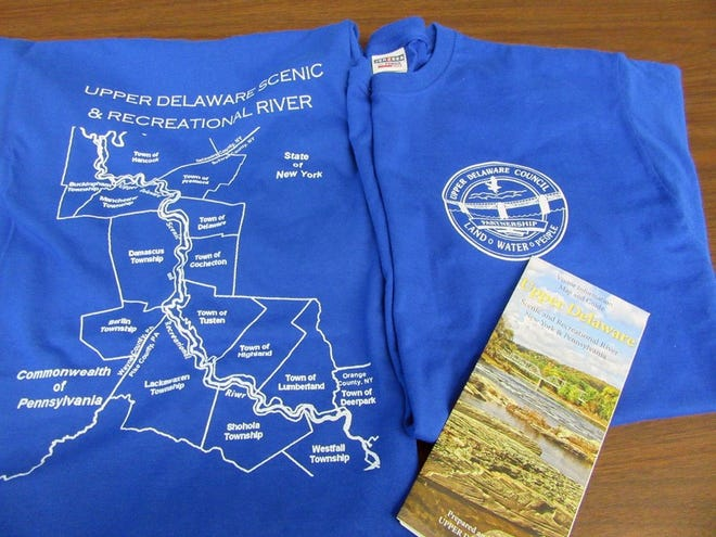 Wear your very own  Upper Delaware Scenic and Recreational River Valley t-shirt. Contact the UDC for details