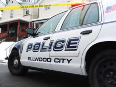 Ellwood City Police Department cruiser