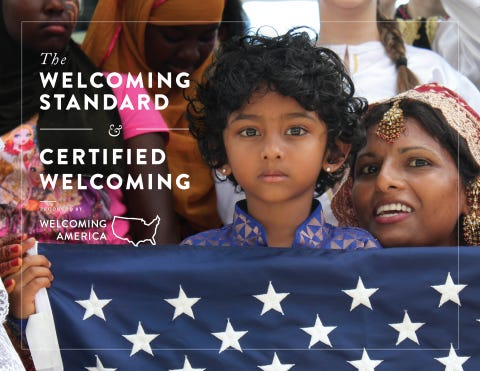 The city of Erie has achieved designation as a welcoming city for all citizens, including immigrants and refugees, from national nonprofit Welcoming America.