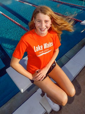 Lake Wales swimmer Mary Leigh Hardman won two individual state titles at the Class 2A state swim meet.