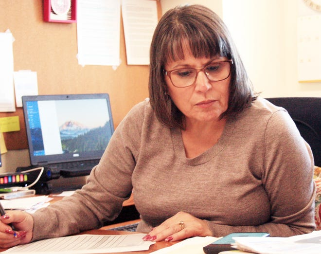 Weed City Councilor and Recreation District  administrator Kim Greene is hard at work coming up with solutions to fund repairs and other needs after Measure M failed with voters earlier this month.