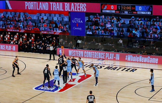 The 2020-21 NBA schedule will feature a play-in tournament and an NBA Finals that could run all the way until July 22, keeping some players from competing in the Olympics.