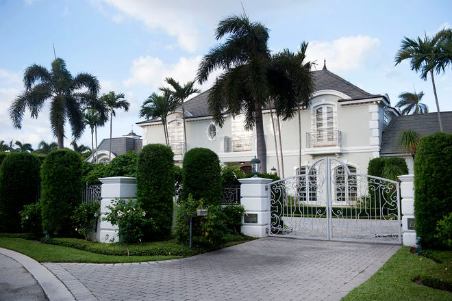 On the North End of Palm Beach, a French Provincial-style house at 8 Windsor Court just sold privately for a recorded $13.25 million.