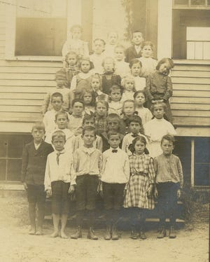 """Third-graders at Winter Street School were not required to wear shoes. A scarlet fever outbreak, six years earlier, was barely contained by the """"prompt action on the part of the teacher in reporting her suspicions."""" The health department ordered a quarantine of the family that likely saved lives."""