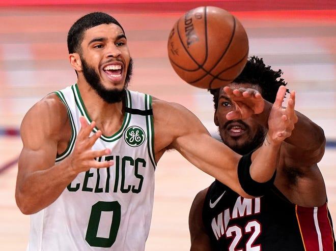 The Boston Celtics drafted Jayson Tatum third overall in the 2017 NBA Draft.