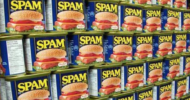 Not Canned Spam!