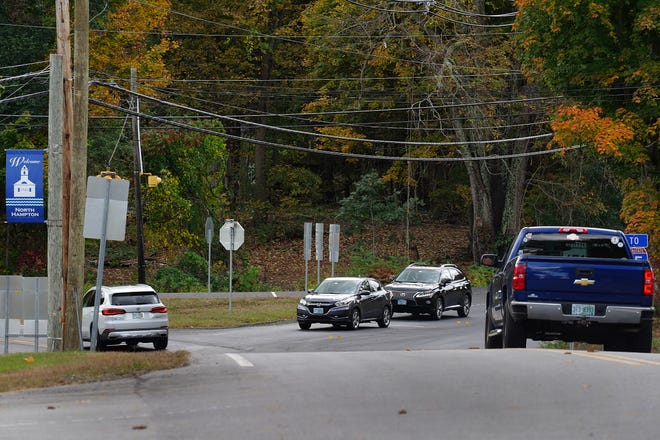 North Hampton resident Larry Murphy has witnessed too many motorists rolling through the stop sign at the intersections of routes 111 and 151 in North Hampton.