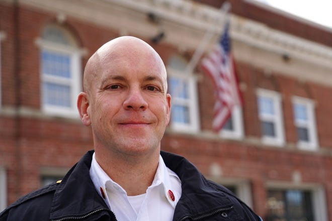 """Portsmouth firefighter William """"Bill"""" McQuillen is the new deputy fire chief in the city."""