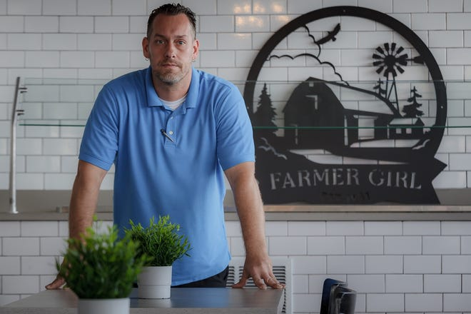 Petro Bikos of North Palm Beach took over the Farmer Girl restaurant in Lake Worth Beach from his uncle, Peter Roubekas. He plans to restart his uncle's tradition of feeding homeless people on Thanksgiving Day in the newly renovated restaurant on Dixie Highway.