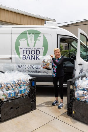 Philanthropist Lois Pope gave the Palm Beach County Food Bank $50,000 on top of the more than $1 million she has contributed to the non-profit. Pope said she is moved by the plight of children suffering with hunger during the pandemic.