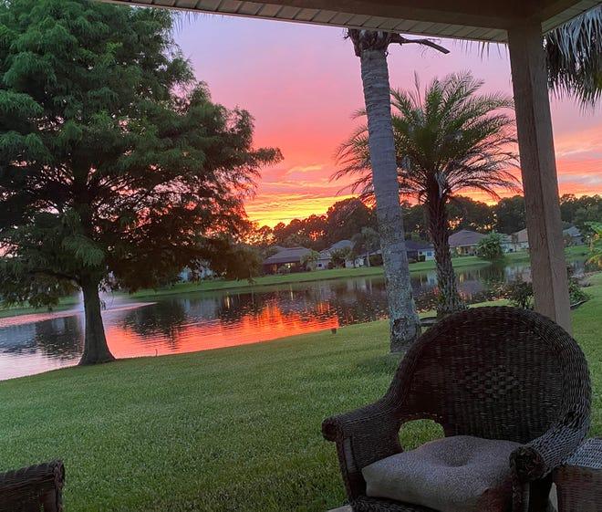 Sunset in Grand Cay, St. Augustine. A hidden local gem.