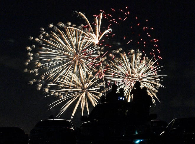 The socially-distanced drive-in July 3 event at Nathan Benderson Park this year sold a limited number of tickets for safety and was one of the only Fourth of July fireworks displays – and public events – in the area.