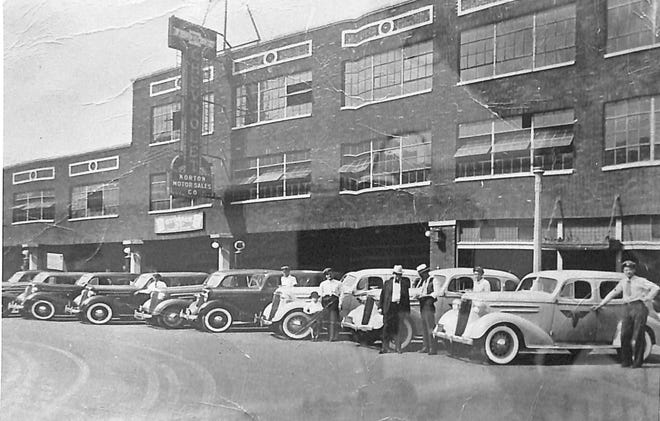 In 1936 Norton Chevrolet was the leading auto dealership in Shawnee. It was located on north Union, between Main Street and 9th Street.