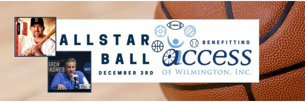 Allstar ball to benefit ACCESS of Wilmington will be stream live Thursday, Dec. 3.