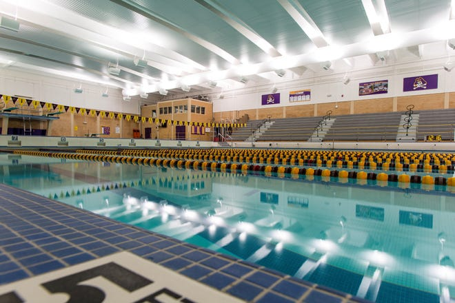 East Carolina's Minges Natatorium. [Photo courtesty of ECU athletics]