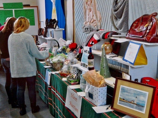 The annual St. Nicholas Victorian Fair will be held as an online auction and shopping experience from noon Nov. 18 through noon Dec. 2 via Christ Church in Pomfret.