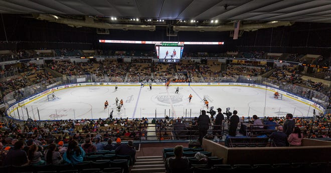 The DCU Center will be empty of hockey fans this season as the Worcester Railers will not play due to the pandemic.
