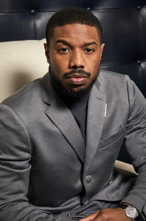"Michael B. Jordan poses for a portrait to promote the film ""Just Mercy"" on Dec. 16, 2019, in New York. Jordan has been crowned as 2020's Sexiest Man Alive by People magazine."