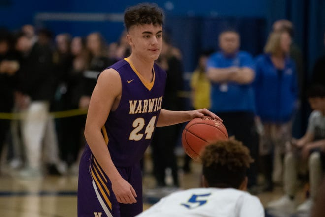 "Warwick's Jake Dunn and Section 9 players are waiting until at least Jan. 4 to start the season as basketball has been determined as a ""high-risk"" sport by the state Department of Health. EDWARD DILLER/FOR THE TIMES HERALD-RECORD"