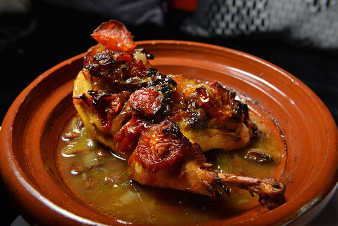 One of Moroccan Hospitality's popular chicken dishes.